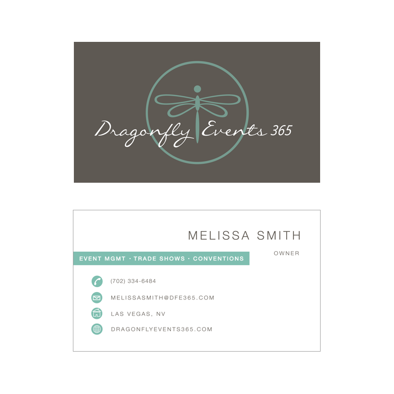 Wonderful Dragonfly Business Cards Images - Business Card Ideas ...