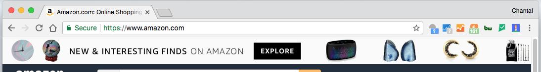 SSL Certificate URL - Amazon